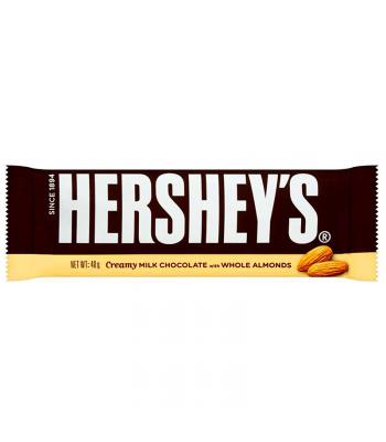 Hershey's Creamy Milk Chocolate with Whole Almonds Bar  (43g) Chocolate, Bars & Treats Hershey's