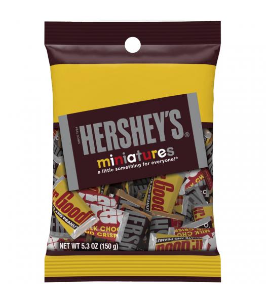 Hershey's Miniatures Assortment 5.3oz (150g) Chocolate, Bars & Treats Hershey's