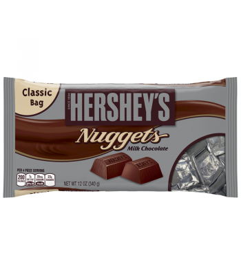 Clearance Special - Hershey's Milk Chocolate Nuggets 12oz (340g) ** Best Before: March 2018 ** Clearance Zone