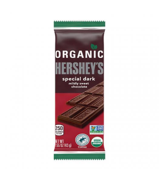 Hershey's Organic Dark Chocolate Bar - 1.55oz (43g) Sweets and Candy Hershey's