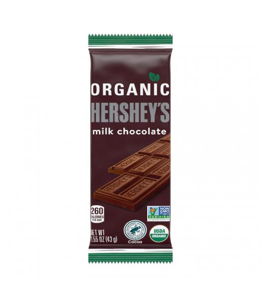 Hershey's Organic Milk Chocolate Bar - 1.55oz (43g) Sweets and Candy Hershey's