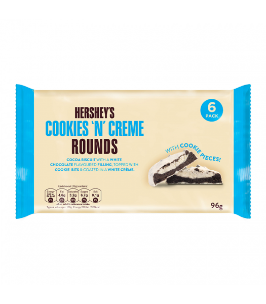 Hershey's Cookies 'N' Creme Rounds 96g Chocolate, Bars & Treats Hershey's