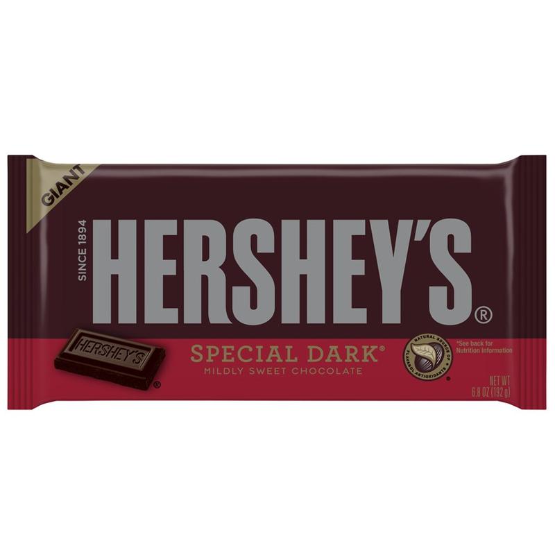 Hersheys Special Dark Giant Bar 68oz 192g