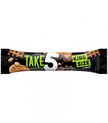 Hershey's Take 5 King Size Bar 2.25oz (63g) Chocolate, Bars & Treats Hershey's