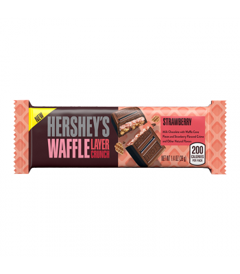 Hershey's Waffle Layer Crunch Strawberry 1.4oz (39g) Sweets and Candy Hershey's