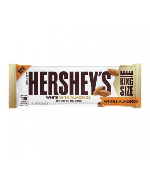 Hershey's White Crème w/ Whole Almonds King Size Bar - 2.6oz (73g)