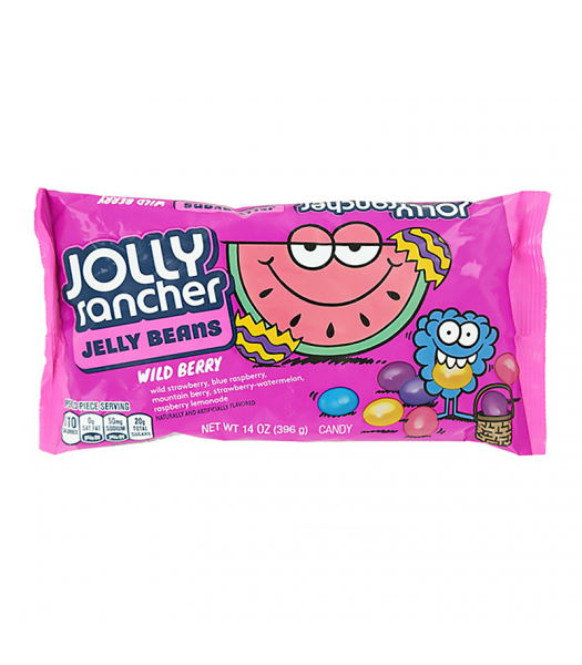 Jolly Rancher Jelly Beans - Wildberry - 14oz (396g) Sweets and Candy Jolly Rancher