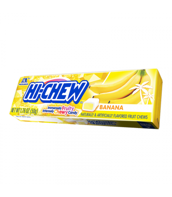 Hi-Chew Fruit Chews Banana - 1.76oz (50g) Sweets and Candy Hi-Chew