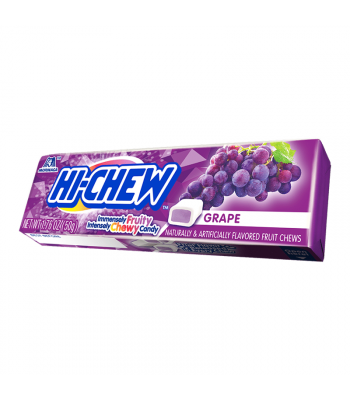 Hi-Chew Fruit Chews Grape - 1.76oz (50g) Sweets and Candy HI-CHEW