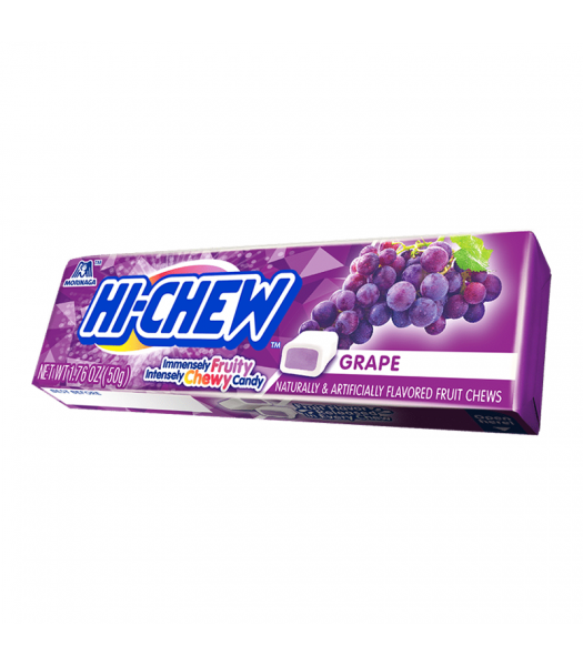 Hi-Chew Fruit Chews Grape - 1.76oz (50g) Sweets and Candy HI-CHEW