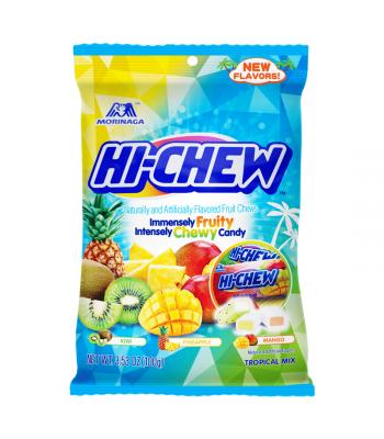Hi-Chew Tropical Mix Peg Bag - 3.53oz (100g) Sweets and Candy HI-CHEW