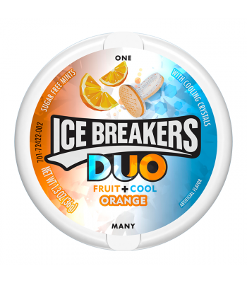 Ice Breakers Duo Orange Mints - 1.3oz (36g)