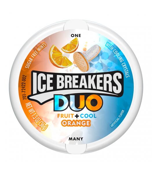 Ice Breakers Duo Orange Mints - 1.3oz (36g)