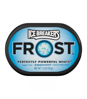 Ice Breakers Frost Peppermint Mints 1.2oz (34g) Hard Candy Ice Breakers