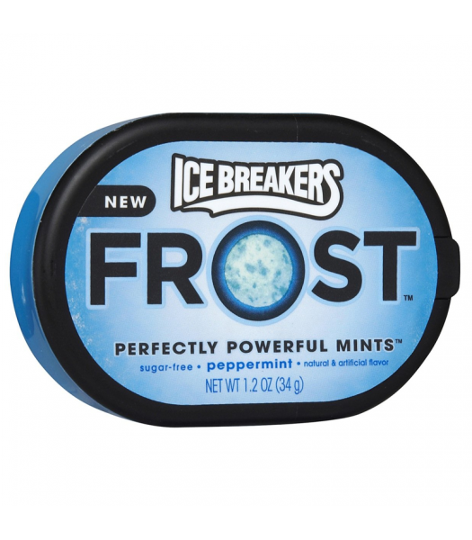 Clearance Special - Ice Breakers Frost Peppermint Mints 1.2oz (34g) **Best Before: November 2018** Clearance Zone