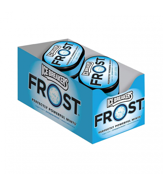 Clearance Special - Ice Breakers Frost Peppermint Mints 1.2oz (34g) 6-Pack Case ** Best Before: November 2018 ** Clearance Zone