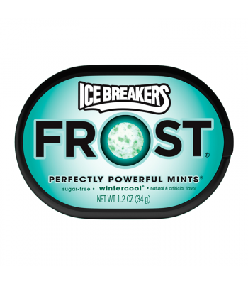 Ice Breakers Frost Wintercool Mints 1.2oz (34g) Hard Candy Ice Breakers
