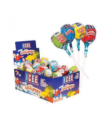 ICEE Fizzing Lollipop - 0.6oz (17g) Sweets and Candy ICEE