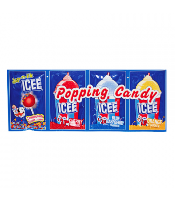 ICEE Popping Candy & Lollipop 0.99oz (28g) Lollipops ICEE