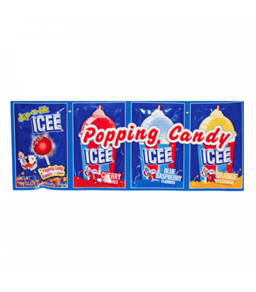 ICEE Popping Candy & Lollipop 0.99oz (28g) Lollipops ICEE