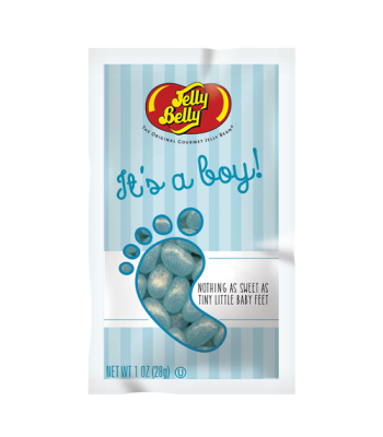 Clearance Special - Jelly Beans 'Its a boy' 1oz (28g) **Best Before: 16 April 18**	 Clearance Zone