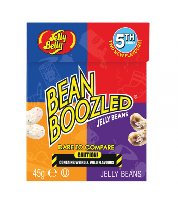 Jelly Belly - Beanboozled 5th Edition Flip Top Box (45g) Sweets and Candy Jelly Belly