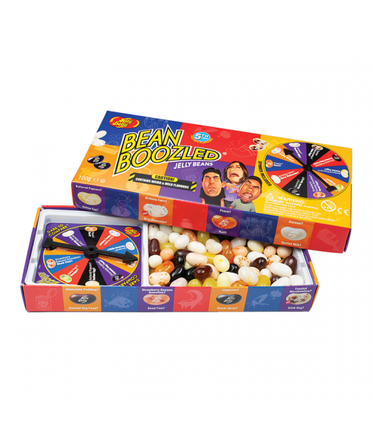 Jelly Belly 5th Edition Bean Boozled Spinner Gift Box (100g) Sweets and Candy Jelly Belly