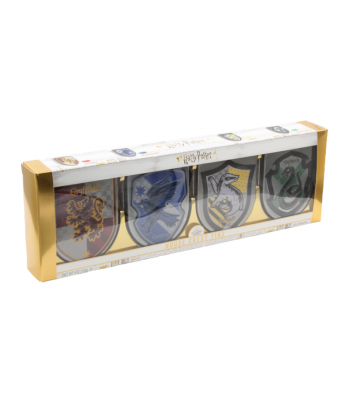 Harry Potter - Hogwarts House Crest Tins Gift Box 4pk (112g) Sweets and Candy Harry Potter