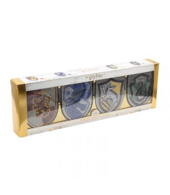 Harry Potter - Hogwarts House Crest Tins Gift Box 4pk  Jelly Belly