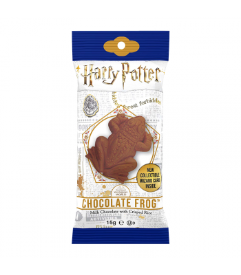 Harry Potter Chocolate Frog with collectable wizard card 0.55oz (15g) Chocolate, Bars & Treats Harry Potter