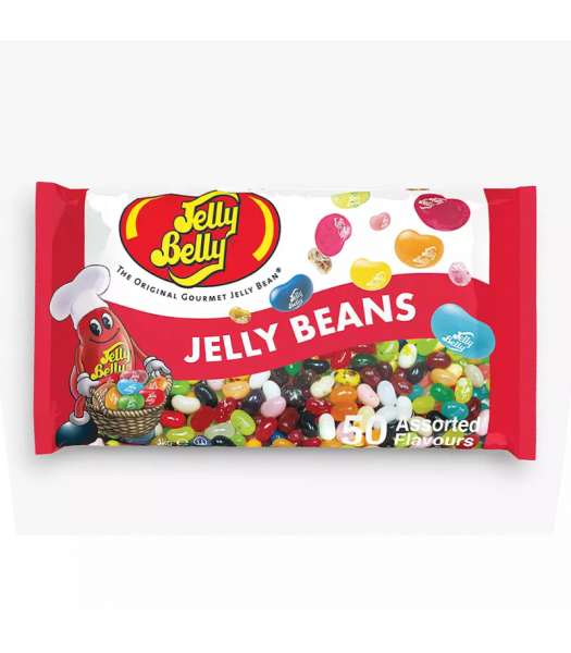 Jelly Belly 50 Flavour Assortment - 1KG Bag Sweets and Candy Jelly Belly
