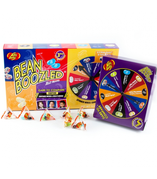 Jelly Belly - Bean Boozled 4th Edition Spinner Game - 12.6oz (357g) Sweets and Candy Jelly Belly
