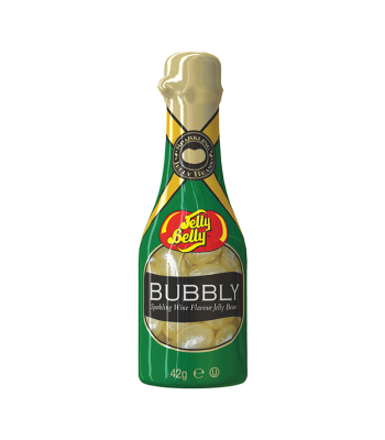 Jelly Belly Bubbly Sparkling Wine Flavour Jelly Beans Bottle - 42g Sweets and Candy Jelly Belly