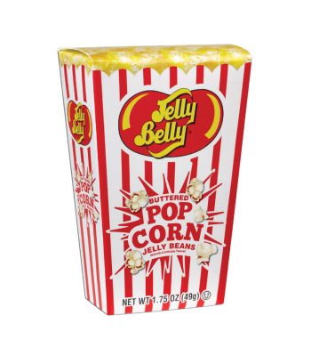 Jelly Belly Buttered Popcorn Jelly Bean Box - 1.75oz (49g) Sweets and Candy Jelly Belly