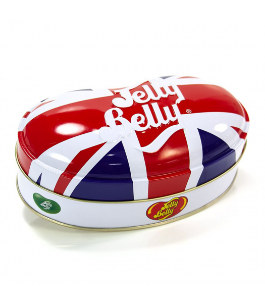 Jelly Belly Union Jack Tin Assorted Jelly Beans (200g) Sweets and Candy Jelly Belly