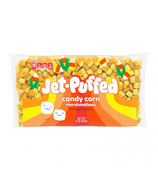 Jet Puffed Candy Corn Marshmallows - 8oz (226g) Sweets and Candy