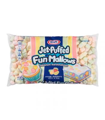 Jet Puffed Mini Fun Mallows - 10oz (284g) Sweets and Candy