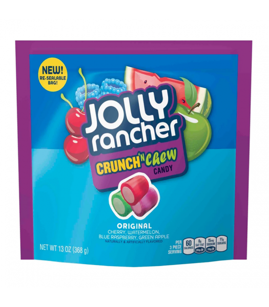 Jolly Rancher Crunch 'N Chew - 13oz (368g) Sweets and Candy Jolly Rancher