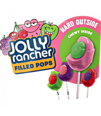 Jolly Rancher Filled Pop - SINGLE Sweets and Candy Jolly Rancher