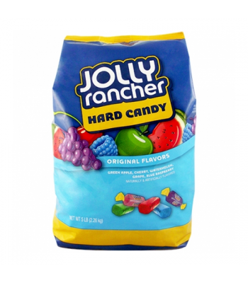 Jolly Rancher Hard Assorted Candy HUGE BAG 5lb (2.26kg)