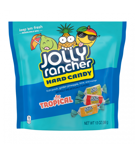 Jolly Rancher Tropical Hard Candy - 13oz (369g) Sweets and Candy Jolly Rancher