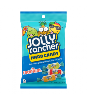 Jolly Rancher Tropical Hard Candy - 6.5oz (184g) Sweets and Candy Jolly Rancher