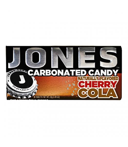Jones Soda Carbonated Candy - Cherry Cola 0.8oz (28g) Hard Candy Jones Soda