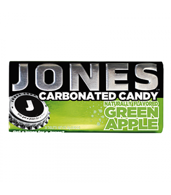 Jones Soda Carbonated Candy - Green Apple 0.8oz (28g) Hard Candy Jones Soda