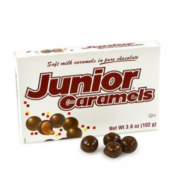 Junior Caramels Box 3.5oz (102g) Chocolate, Bars & Treats Junior