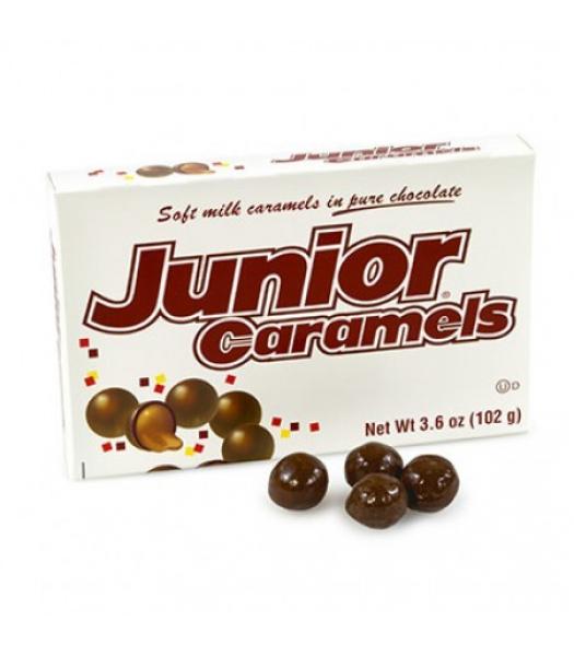 Junior Caramels Box 3.5oz (102g) Chocolate, Bars & Treats Junior