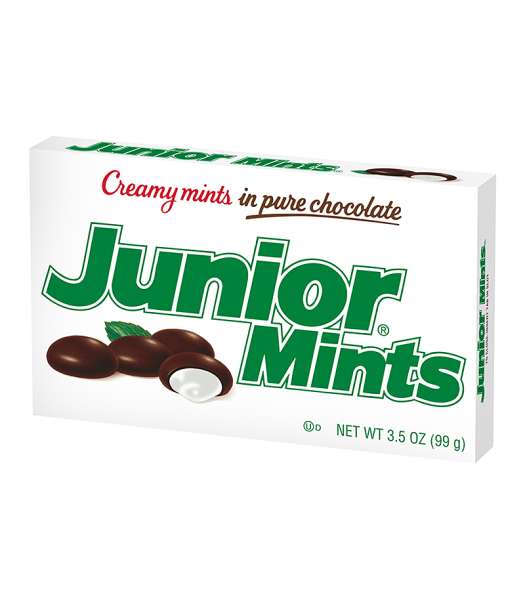 Junior Mints Theatre Box 3.5oz (99g)  Chocolate, Bars & Treats Junior
