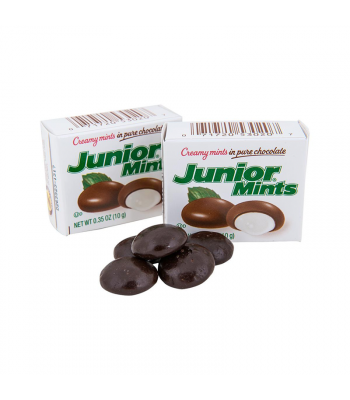 Junior Mints Snack Size - 0.35oz (10g) Sweets and Candy Tootsie
