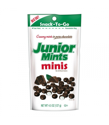 Junior Mints Minis Stand Up Pouch 4.5oz (127g) Sweets and Candy Junior