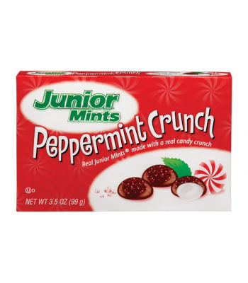 Junior Mints Peppermint Crunch - 3.5oz (99g) [Christmas] Sweets and Candy Junior